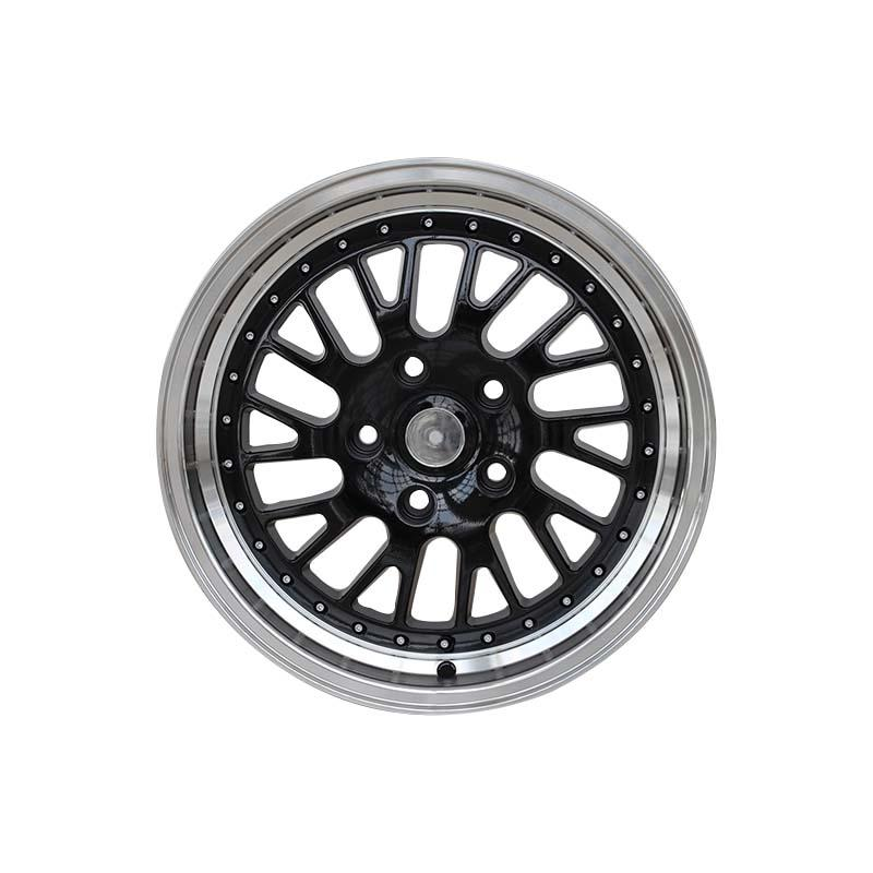 black 16 inch steel rims alloy for vehicle XPW-3
