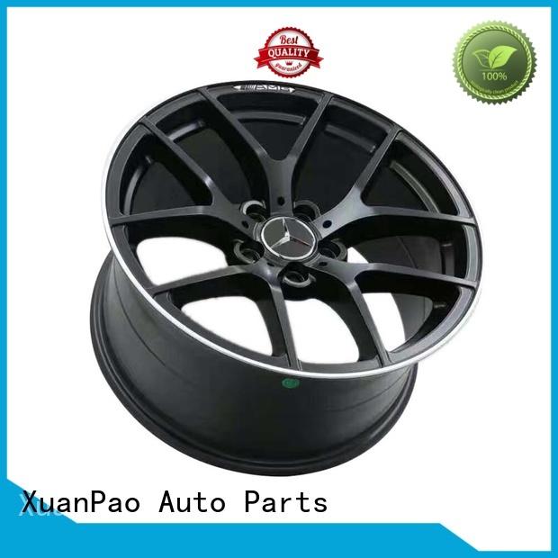 red matte mercedes wheels rear XPW Brand