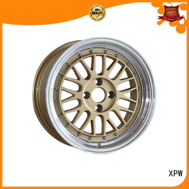 XPW aluminum 4 lug rims 15 inch design for Toyota