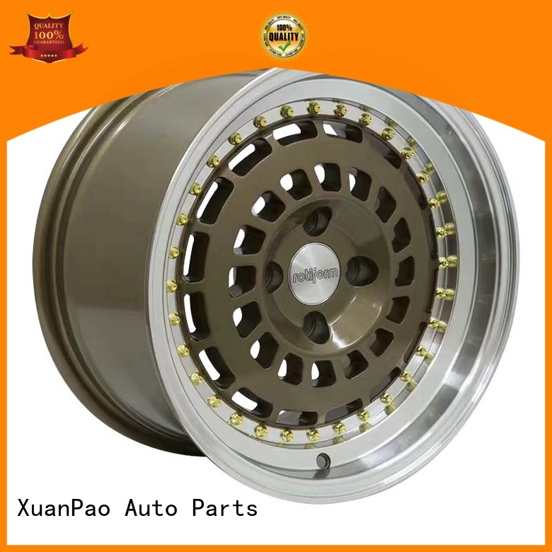 fashion 15 inch rims and tires customized for Toyota XPW