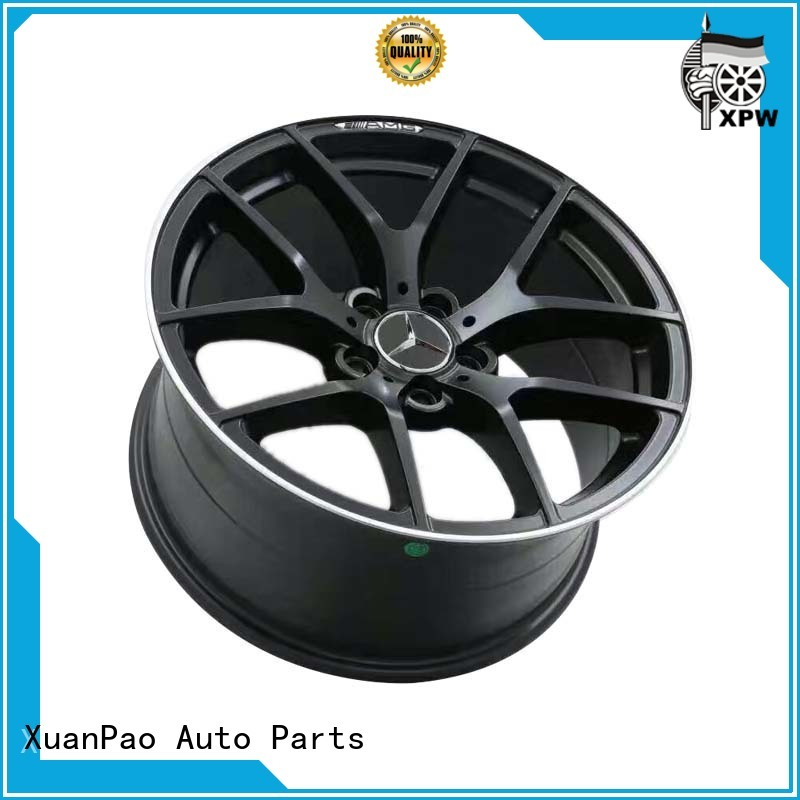 professional mercedes black alloys low-pressure casting manufacturing for mercedes