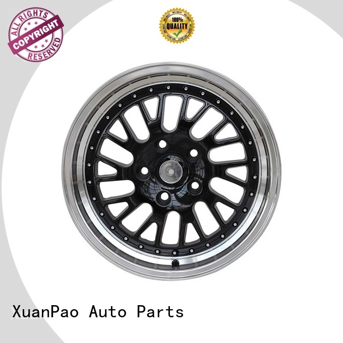 durable size 16 rims black wholesale for vehicle