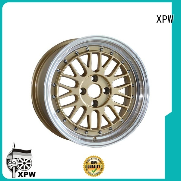 XPW long lasting aftermarket rims manufacturing for Toyota