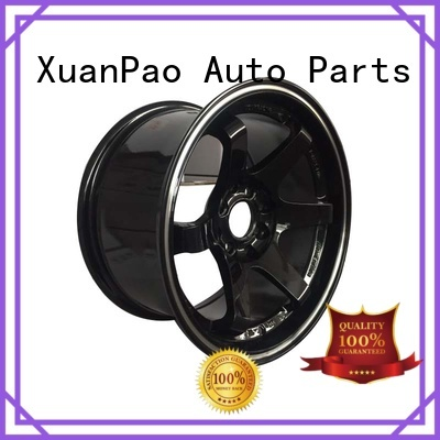 fashion 15 inch black wheels design for cars
