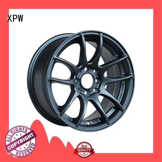 XPW alloy 18 inch black and chrome rims manufacturing for cars