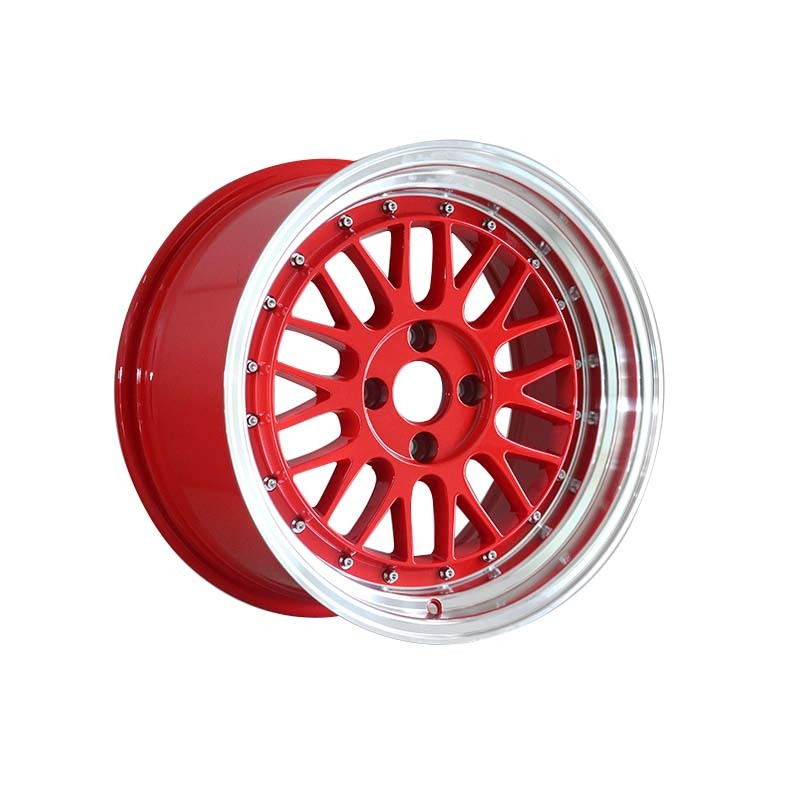 long lasting 15 inch rims 4x100 white design for vehicle
