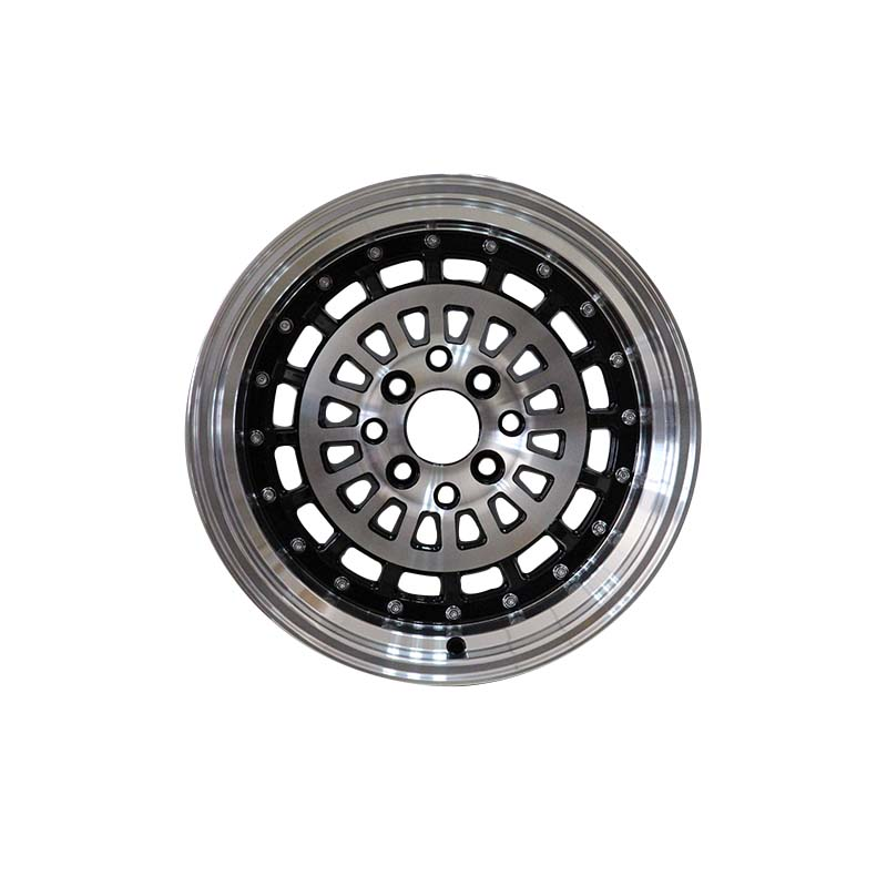 XPW white 15 inch black hubcaps manufacturing for vehicle-3