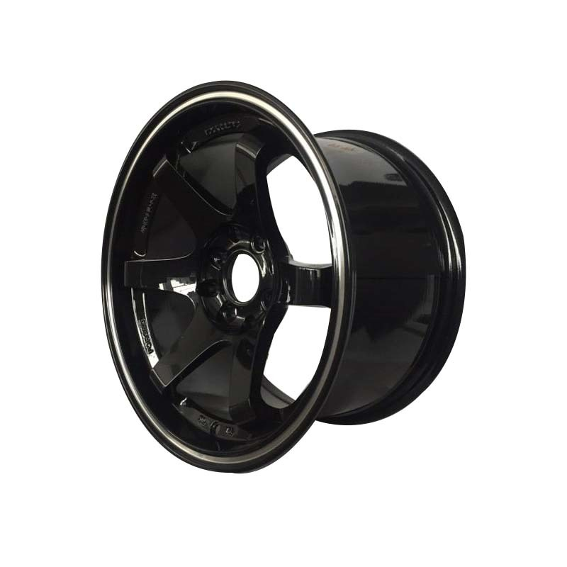 aluminum 15 inch black rims manufacturing for Honda series XPW