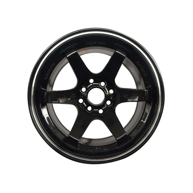 aluminum 15 inch black rims manufacturing for Honda series XPW-4
