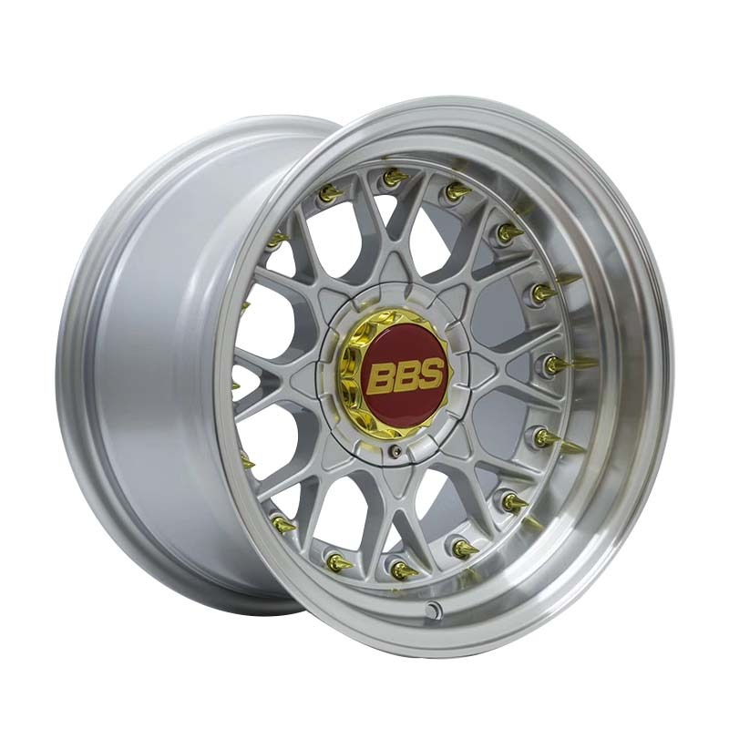 15 inch BBS black /silver/grey/gold/white sports rims PCD 8*100/114.3