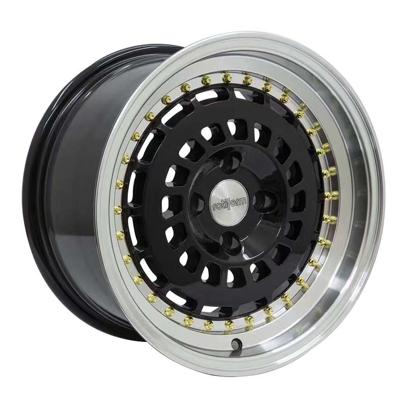 XPW power coating black rims for sale manufacturing for vehicle