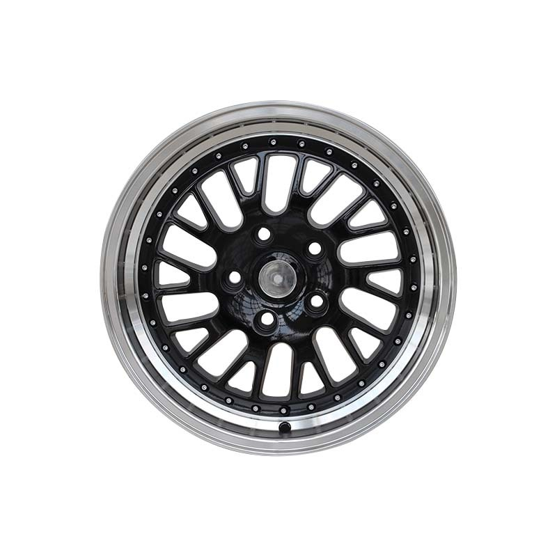 16 inch alloy wheels 0147 black mathine face rims PCD  8*100/114.3