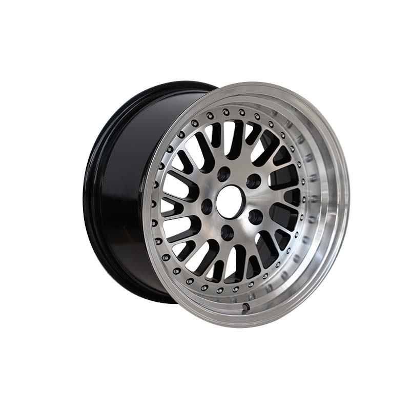 black 16 inch steel rims alloy for vehicle XPW-4