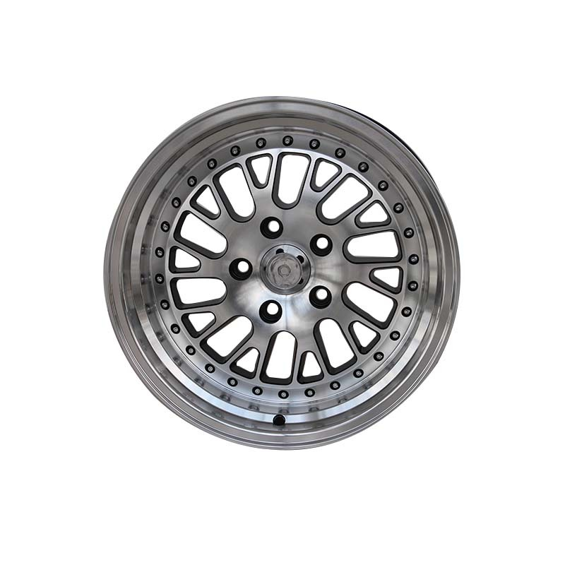 black 16 inch steel rims alloy for vehicle XPW