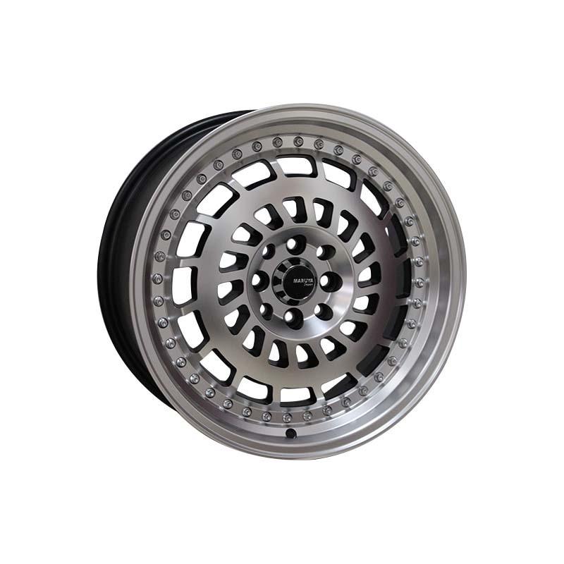 17 inch alloy rims 0129 matte black /black color rims PCD have 5 *114.3  .5*100  8*100/114.3
