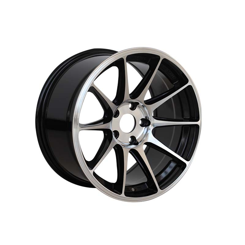 matt black 18 inch black wheels customized for vehicle XPW-4