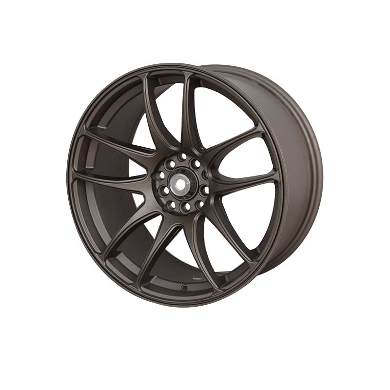 reliable 18 inch rims and tires matt black OEM for cars-2