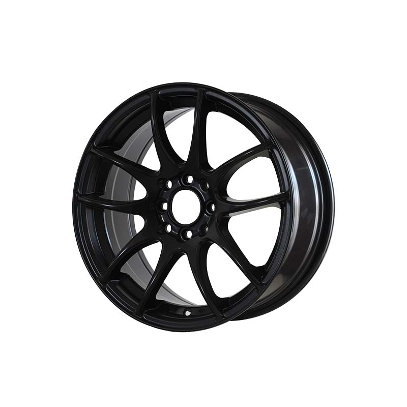 reliable 18 inch rims and tires matt black OEM for cars-3