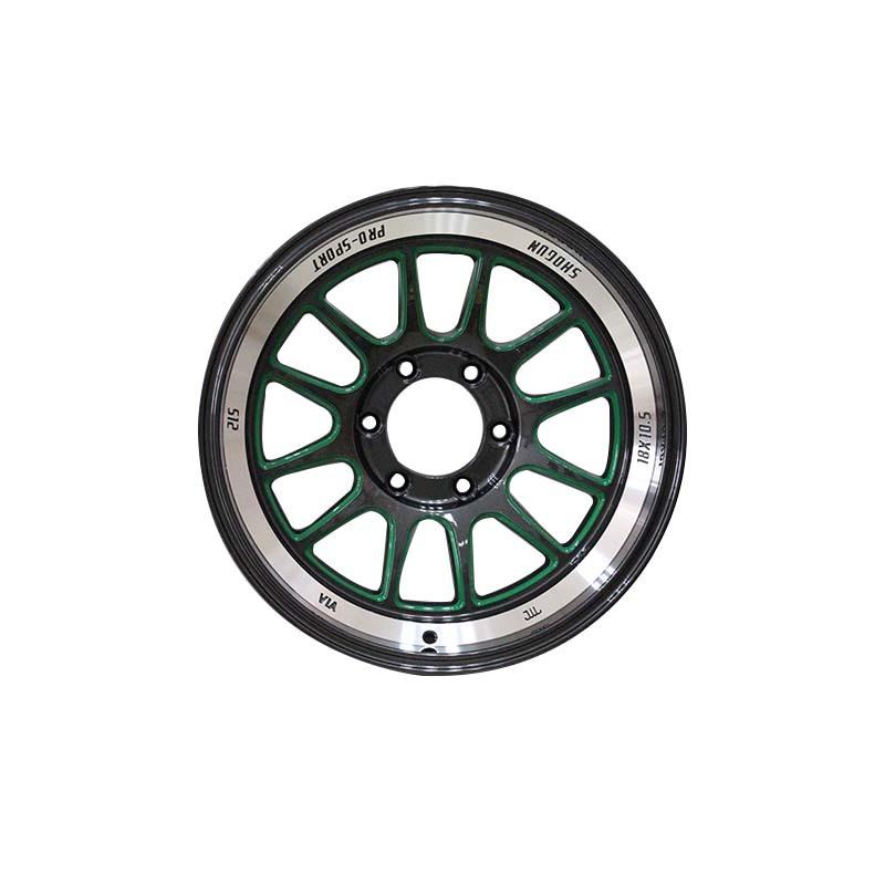 18 inch wheels 0089 black /silver color PCD have 5*114.3