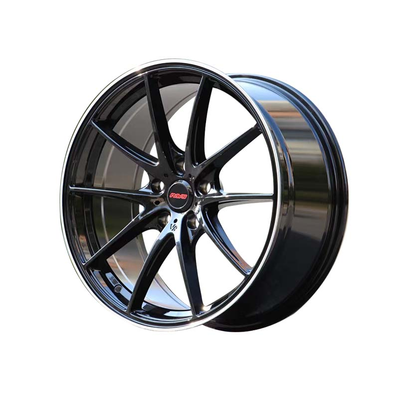 cost-efficient 18 black rims silver customized for cars-5