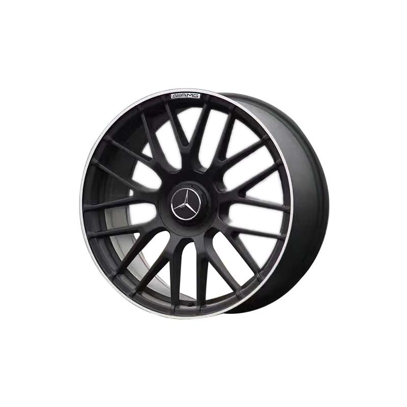 wheel rim XPW9650  black color with red line wheel only used for  benz series car  PCD 5*112,the size have  18inch 19inch  20inch