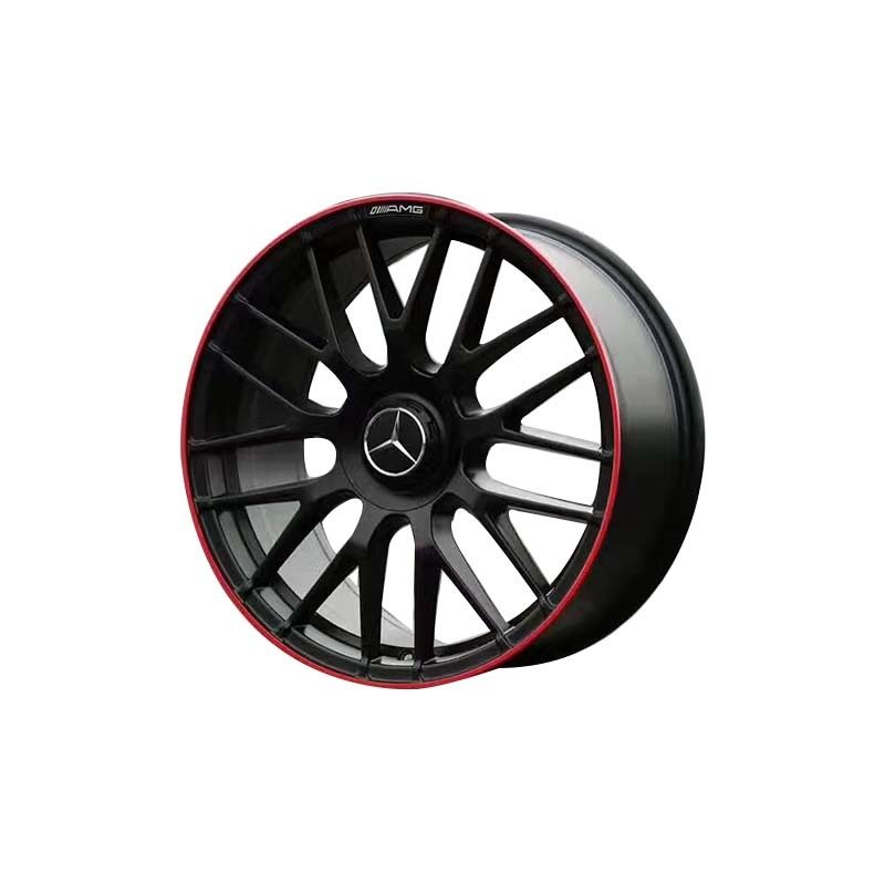 XPW durable mercedes benz wheels matte black for Benz car series