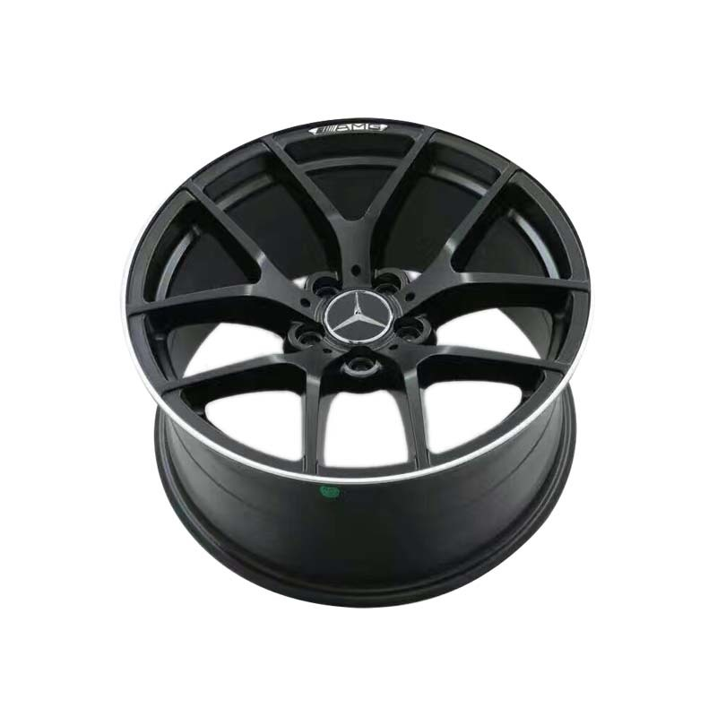 wheel rim 7039 matte black aluminum wheels, PCD 5*112,with for BENZ car the size have  18inch 19inch 20inch, also have front and rear size