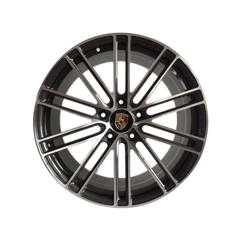 XPW9500 BLACK face alloy rims used for Porsche car pcd 5*130,the size have 20 inch 22inch
