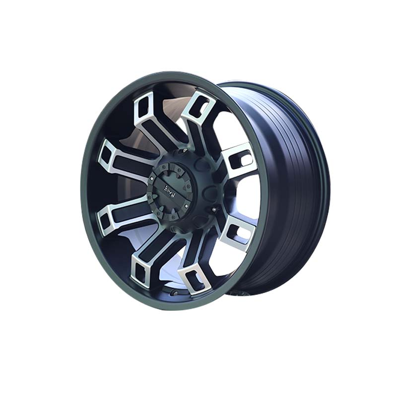 effcient discount custom wheels aluminum manufacturing for SUV cars-2