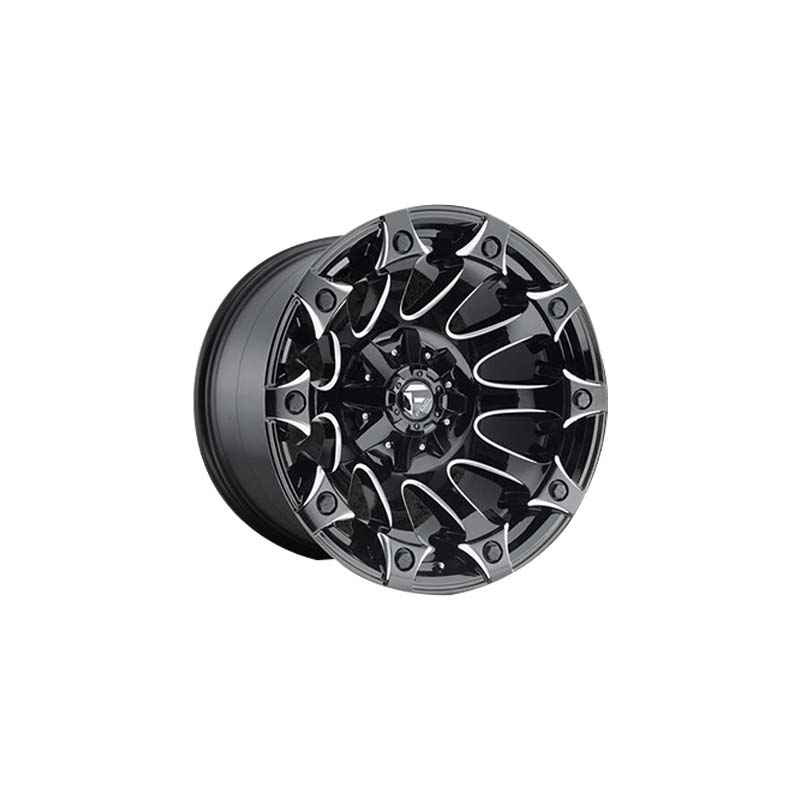 custom suv alloy wheels black with bronze face design for SUV cars-1