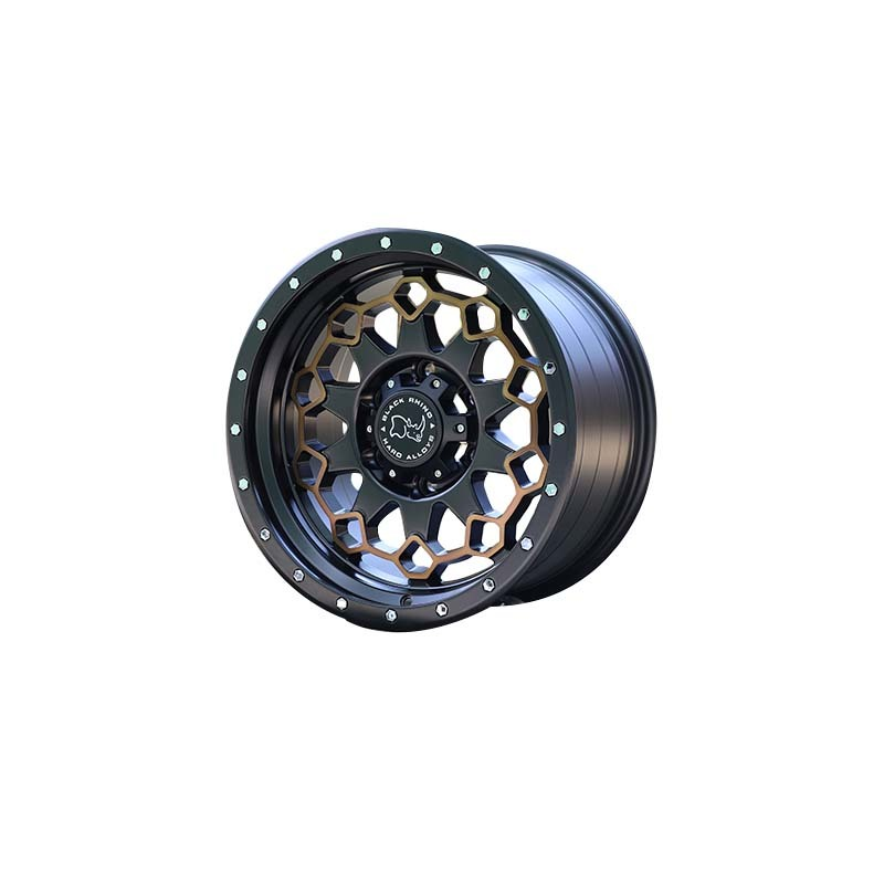 L29 matte black with bronze sports wheels used for SUV car, porpular size have 15inch 16inch 17inch 18inch and 20inch,pcd have  5*127, 6*139.7, 6*114.3 etc.