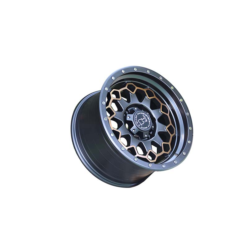 professional mb suv rims black with bronze face wholesale for vehicle-3