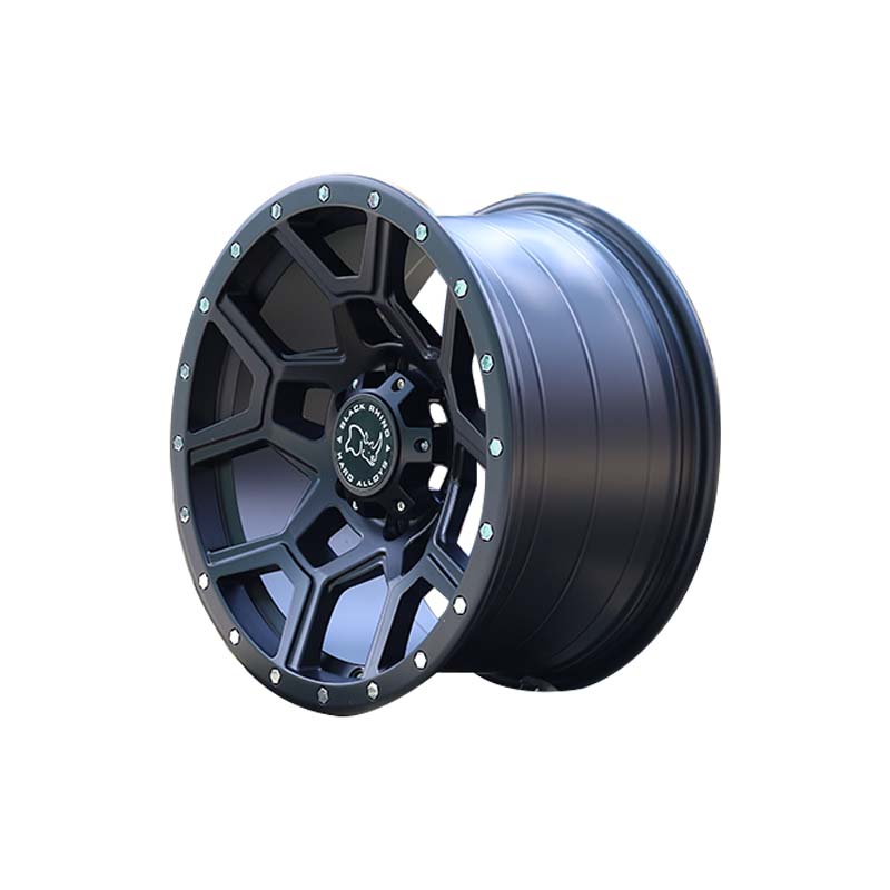 custom 20 suv rims black with bronze face manufacturing for SUV cars-3