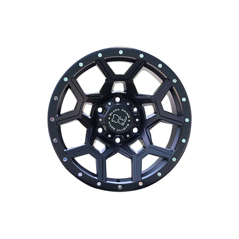 custom 20 suv rims black with bronze face manufacturing for SUV cars-5