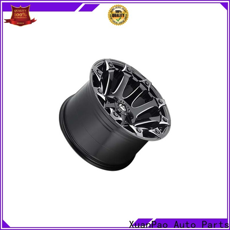 custom black suv wheels aluminum manufacturing for vehicle