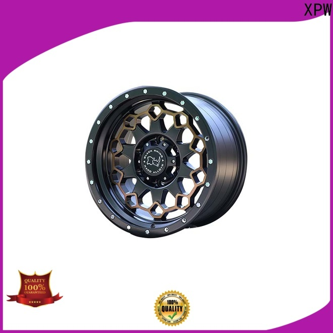 exquisite aftermarket suv wheels black with bronze face wholesale for vehicle
