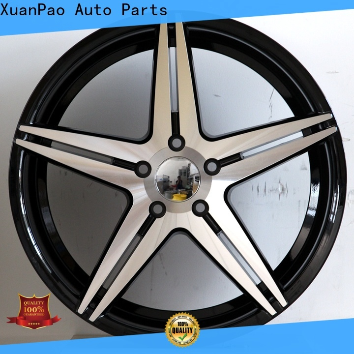 XPW black chrome wheels 20 inch supplier for vehicle
