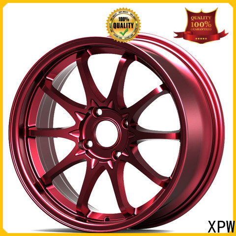 XPW aluminum 15x7 steel wheels manufacturing for Honda series
