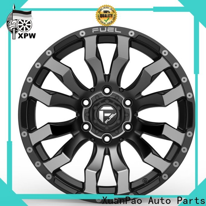 XPW high quality chrome wheels and tires series for Toyota