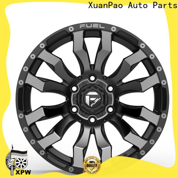 effcient 20 suv rims black with bronze face design for SUV cars