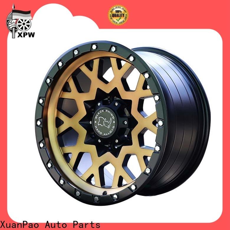 custom black suv rims auto manufacturing for vehicle