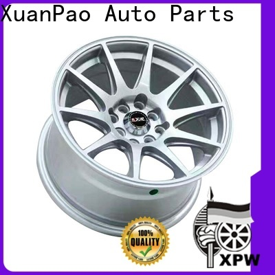 high quality racing rims white design for Toyota