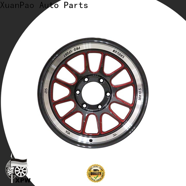 XPW reliable 18 inch chrome rims manufacturing for Honda series