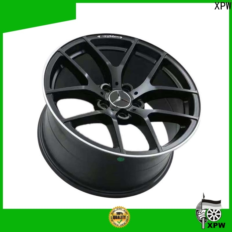 XPW matte black 2007 mercedes e350 rims supplier for mercedes