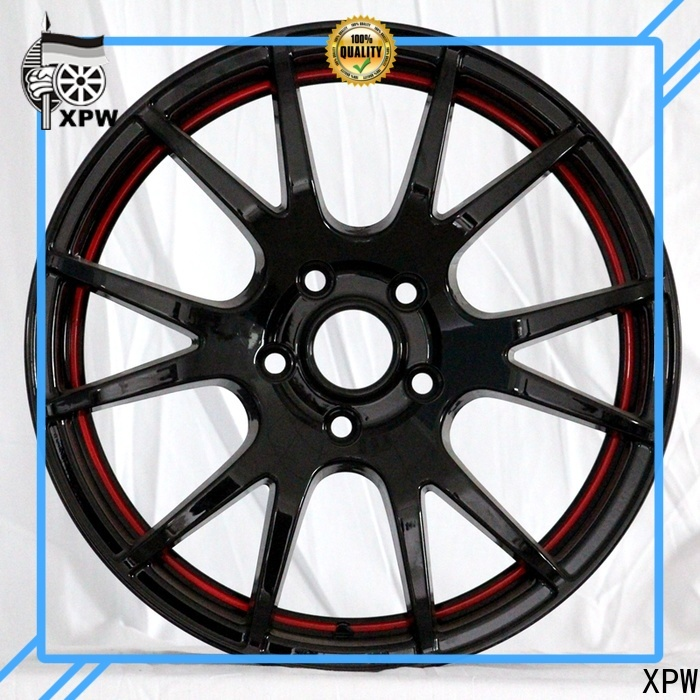 XPW long lasting black steel wheels 15 manufacturing for cars