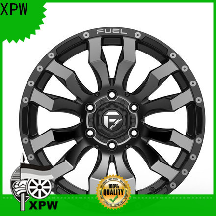 XPW custom chrome rims for suv design for vehicle