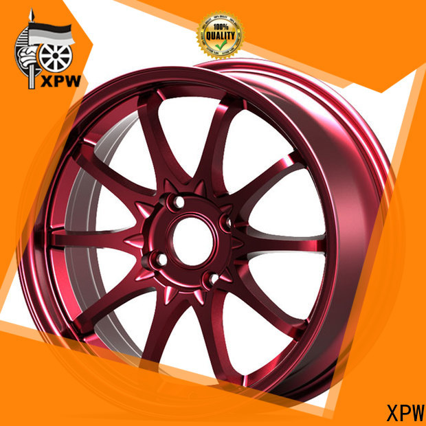 XPW novel design with beautiful shape 15 inch wheels for sale manufacturing for vehicle
