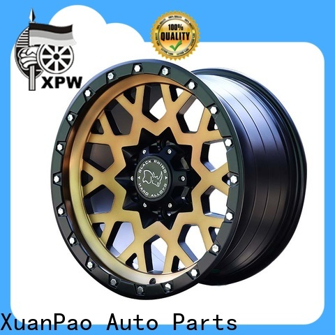 XPW effcient chrome suv rims manufacturing for SUV cars