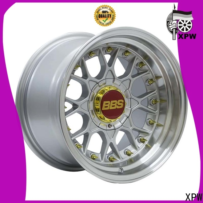 XPW novel design with beautiful shape 15 inch chery rims manufacturing for Honda series