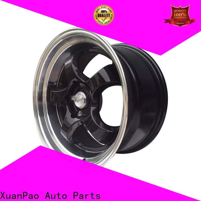 high quality alloy wheels wholesale novel design with beautiful shape design for cars